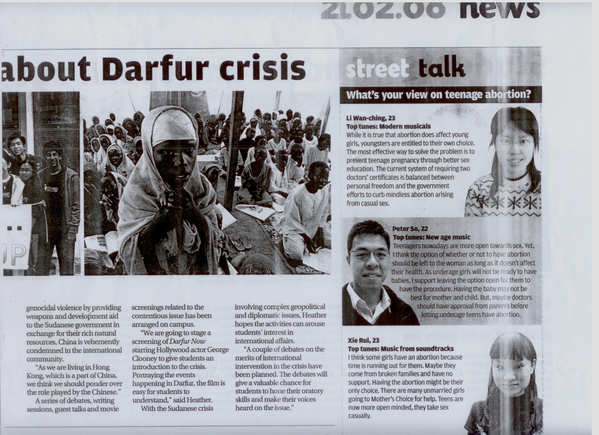 Genocide within Darfur